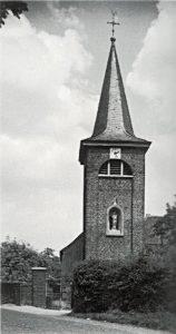 Kirche Rickelrath vor dem Umbau in den 1950er Jahren