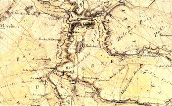 Rickelrath Top 10 Rheinland Tranchot Karte 1801-1828
