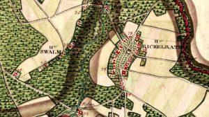 Geschichte Rickelrath Ferraris Karte 1777