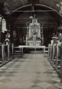 Innenraum Kirche vor 1953
