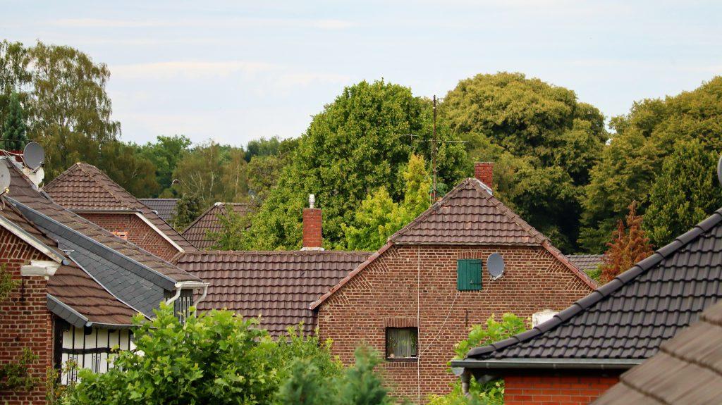 Rickelrath über den Dächern