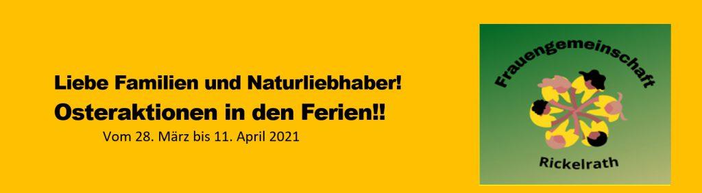 Osteraktionen 2021