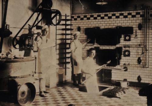Historisches Rickelrath Backstube alte Bäckerei